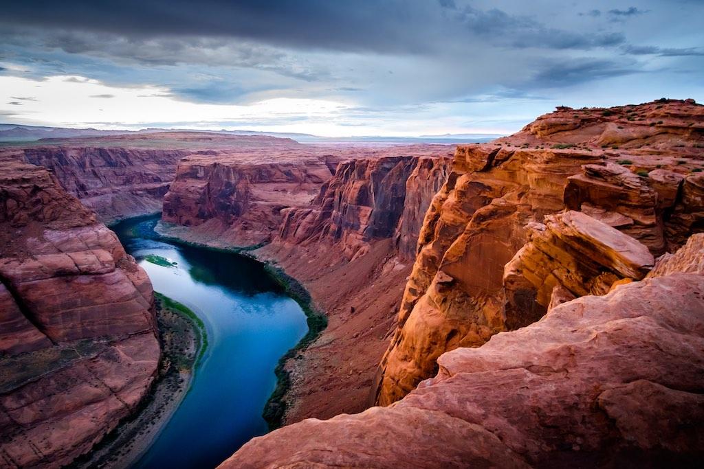 グランドキャニオンを流れるコロラド川