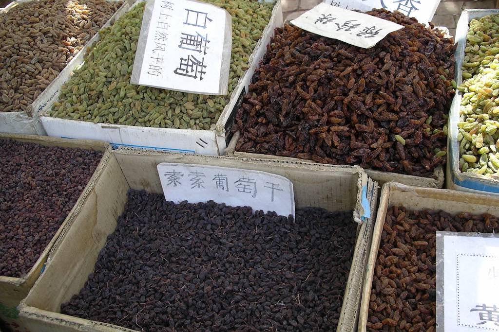 Raisins from Turpan(トルファン市の干しぶどう)