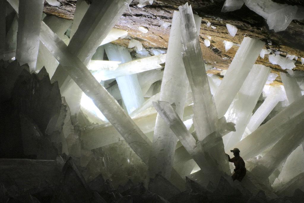 クリスタルの洞窟(ナイカ鉱山)