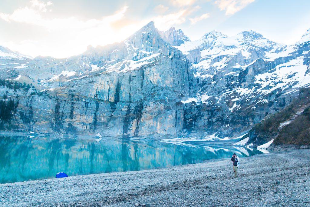 エッシネン湖(スイスの氷河地形)