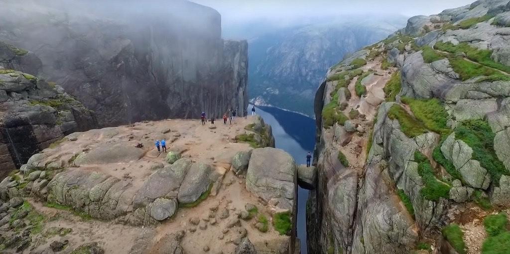 イェラグ(リーセフィヨルド南岸・ノルウェー)